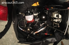 Moskito light PWR MIT EOS 150 Paramotor system